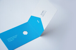 businesscard design metrik