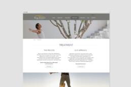 webdesign clean design subpage