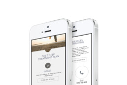 webdesign mobile Mirage