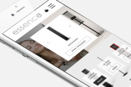 webdesign essence responsive mobile