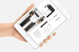 webdesign ipad | essence | deep