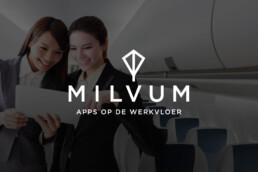 logo design | milvum | deep