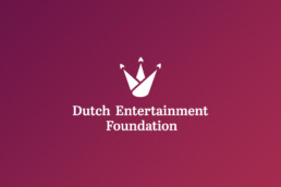 logo design | dutch entertainment foundation | deep