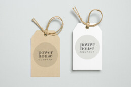 print design | label | powerhouse coaching | deep