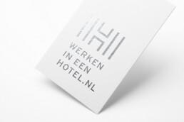 visitekaartje design | werken in een hotel | deep