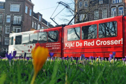 redcrosser tram design | rode kruis amsterdam | deep