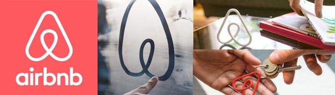 logo design airbnb bespreking