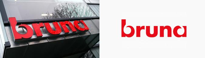 bruna logo design bespreking